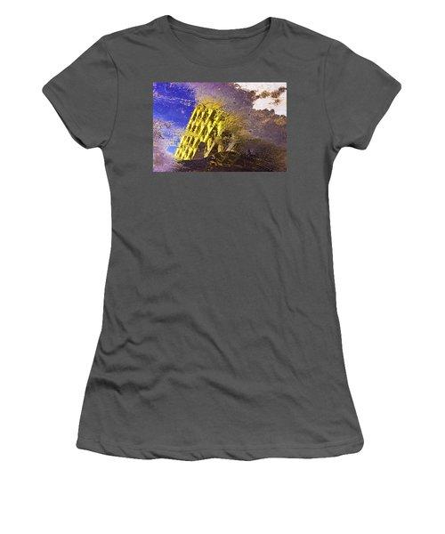 Parallel Universe Women's T-Shirt (Junior Cut) by Prakash Ghai
