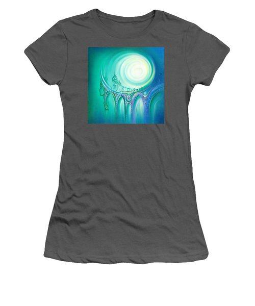 Parallel Ways Women's T-Shirt (Athletic Fit)