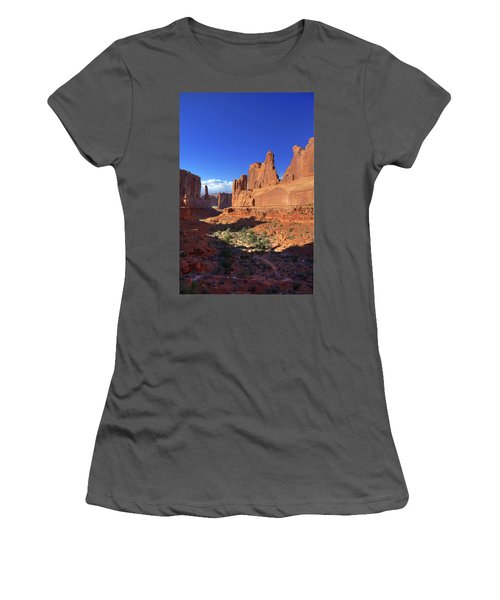 Park Avenue Sunset Women's T-Shirt (Athletic Fit)