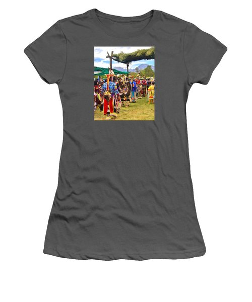 Party Time Women's T-Shirt (Junior Cut) by Marilyn Diaz
