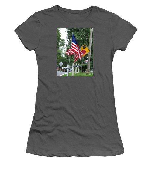 Past Heros Women's T-Shirt (Junior Cut) by Marilyn Zalatan