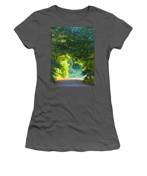 Path To The Light Women's T-Shirt (Athletic Fit)