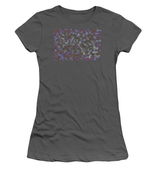 Paw Print Medley Women's T-Shirt (Athletic Fit)