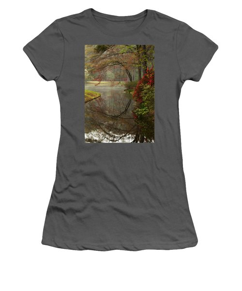 Peace In A Garden Women's T-Shirt (Athletic Fit)