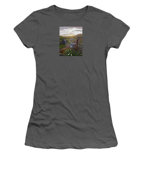 Peace In The Valley Women's T-Shirt (Junior Cut) by Sheri Keith