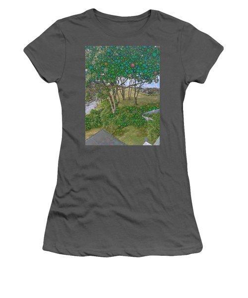 Dawn At Peaks Island Bay Women's T-Shirt (Athletic Fit)