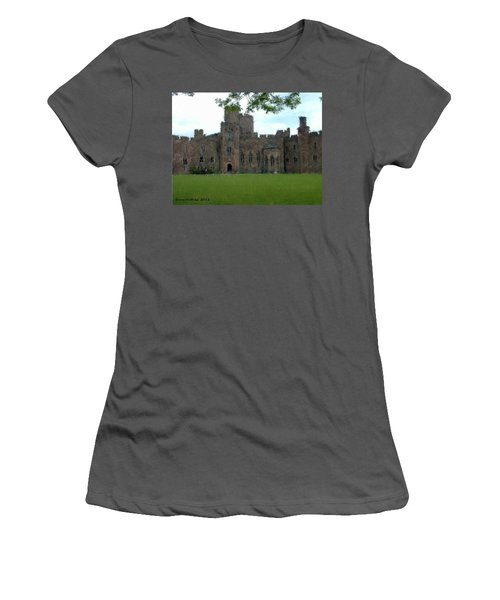 Peckforton Castle Women's T-Shirt (Junior Cut) by Bruce Nutting