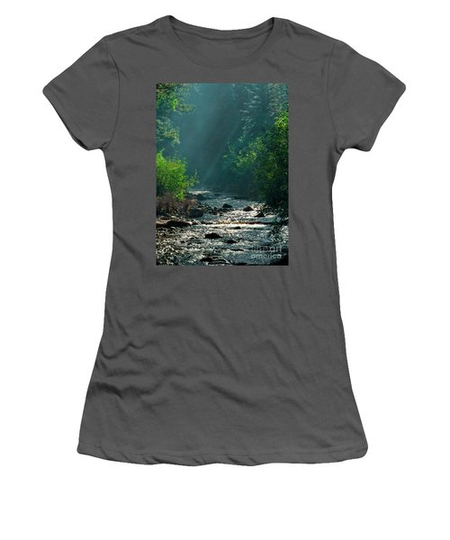 Pecos River Spring Women's T-Shirt (Athletic Fit)