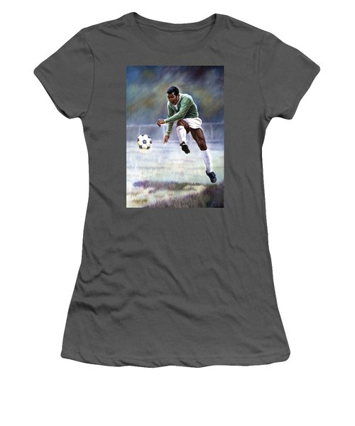 Pele Women's T-Shirt (Athletic Fit)