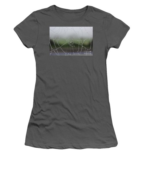 Perfect Circles Women's T-Shirt (Junior Cut) by Vicki Spindler