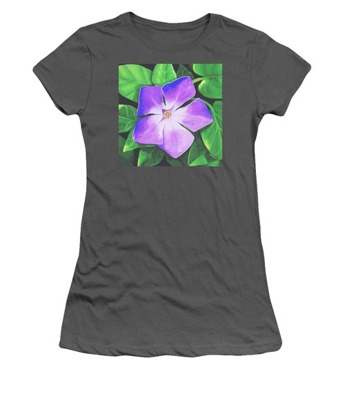 Periwinkle Women's T-Shirt (Athletic Fit)