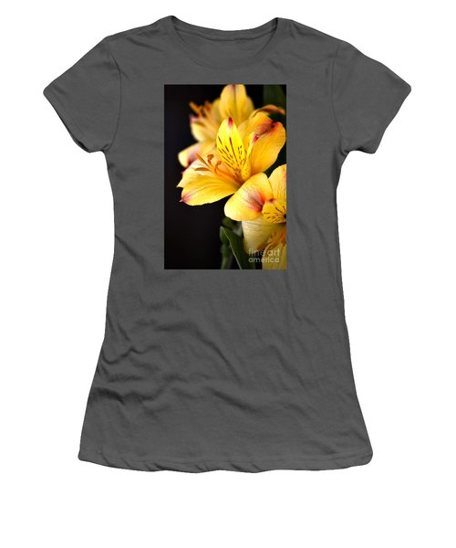 Peruvian Lily Women's T-Shirt (Athletic Fit)