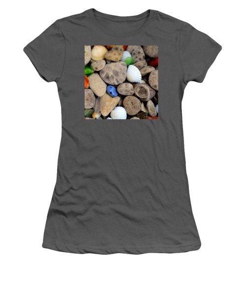Petoskey Stones V Women's T-Shirt (Athletic Fit)