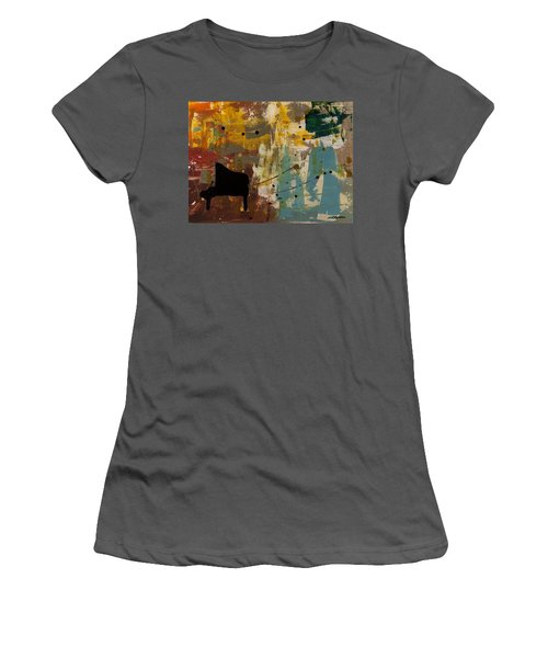 Piano Concerto Women's T-Shirt (Athletic Fit)