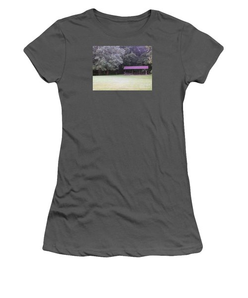 Picnic Shelter Women's T-Shirt (Athletic Fit)