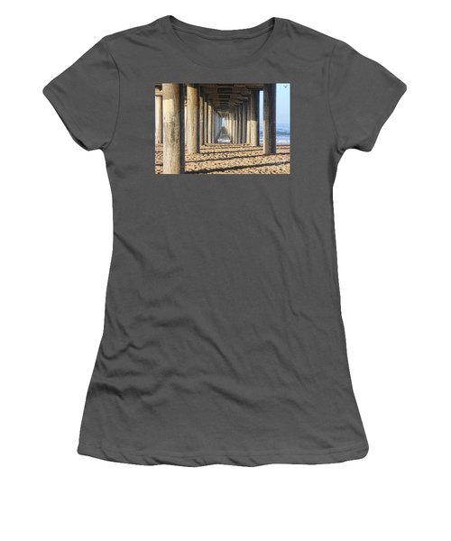 Pier Women's T-Shirt (Junior Cut) by Tammy Espino