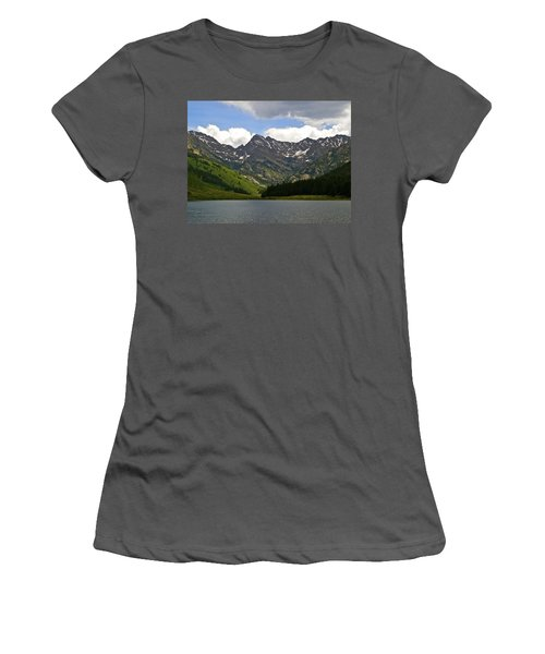 Piney Lake Vail Colorado Women's T-Shirt (Athletic Fit)