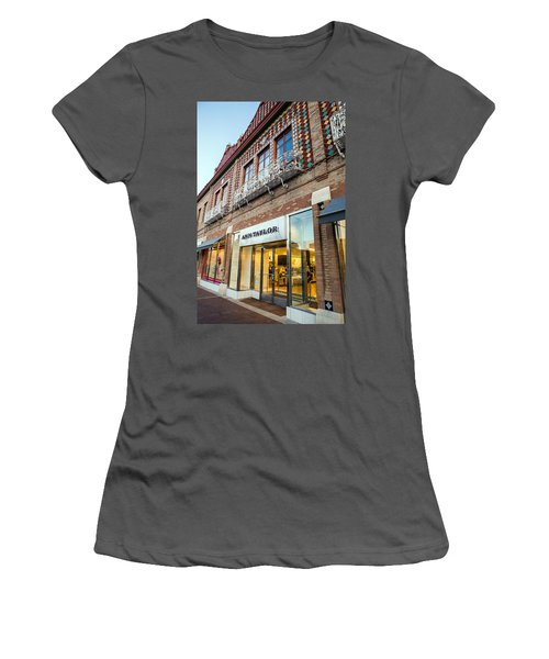 Plaza Store Women's T-Shirt (Athletic Fit)