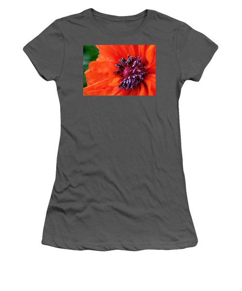 Poppy's Purple Passion Women's T-Shirt (Athletic Fit)