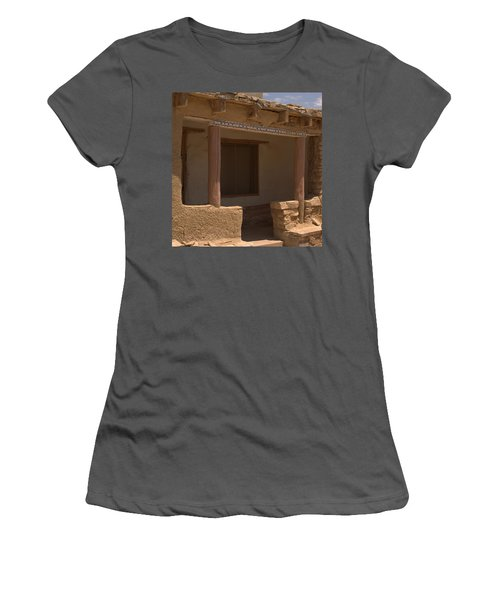 Porch Of Pueblo Home Women's T-Shirt (Athletic Fit)