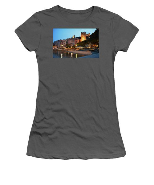 Portovenere At Night Women's T-Shirt (Athletic Fit)