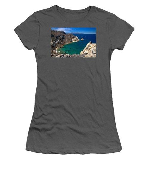 Potato Harbor Views Women's T-Shirt (Athletic Fit)