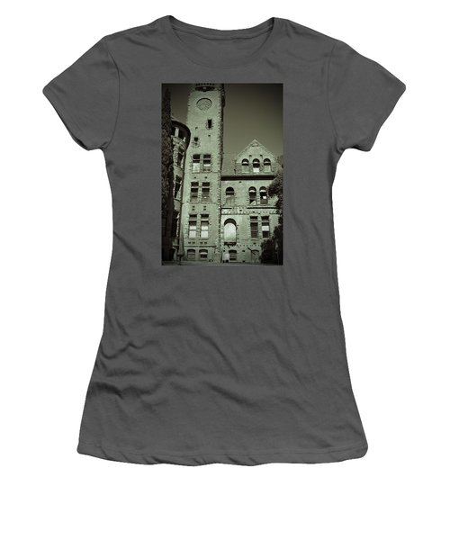 Preston Castle Tower Women's T-Shirt (Junior Cut) by Holly Blunkall