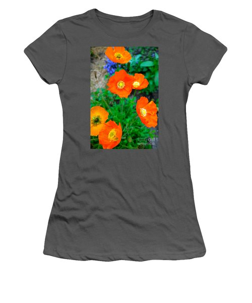 Pretty In Orange Women's T-Shirt (Athletic Fit)