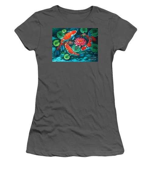 Prosperity Pond Women's T-Shirt (Athletic Fit)