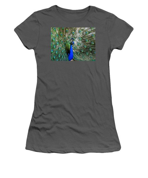 Proud Peacock Women's T-Shirt (Athletic Fit)