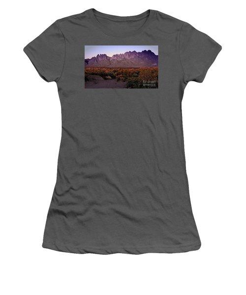 Purple Mountain Majesty Women's T-Shirt (Junior Cut) by Barbara Chichester