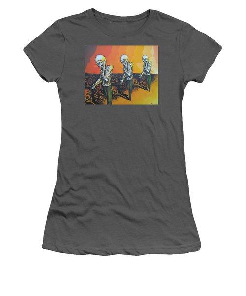 Question To Wonder Women's T-Shirt (Junior Cut) by Michael  TMAD Finney