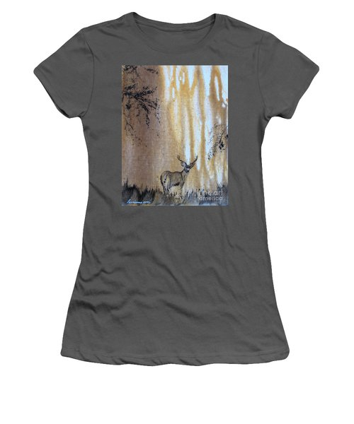 Quiet Time2 Women's T-Shirt (Athletic Fit)