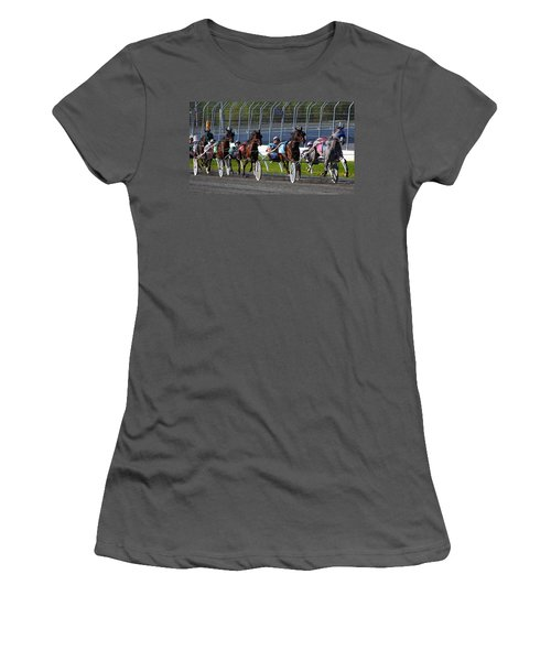 Race To The Finish Women's T-Shirt (Athletic Fit)
