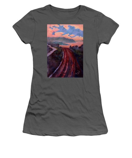 Railroad Women's T-Shirt (Athletic Fit)