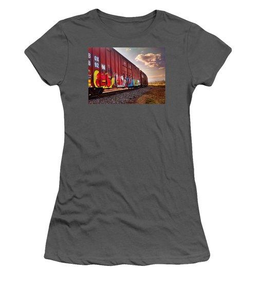 Railways Women's T-Shirt (Athletic Fit)