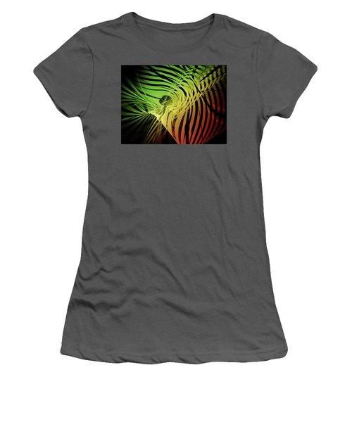 Rainbow Ribs Women's T-Shirt (Athletic Fit)