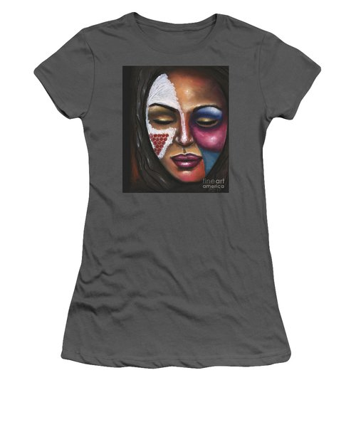 Reaching Deep Within Women's T-Shirt (Athletic Fit)