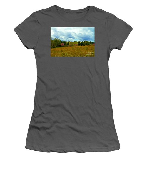 Red Barn Six Women's T-Shirt (Athletic Fit)