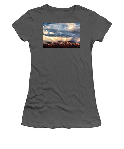 Red Rocks Of Sedona Women's T-Shirt (Athletic Fit)
