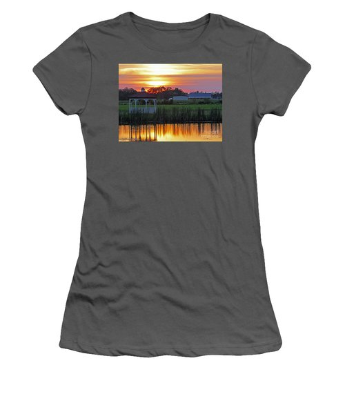 Reflection Of Beauty Women's T-Shirt (Athletic Fit)