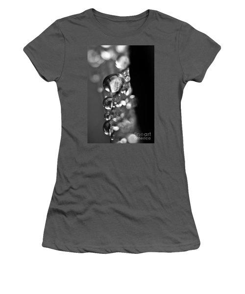 Reflective Rain Women's T-Shirt (Junior Cut) by Cheryl Baxter