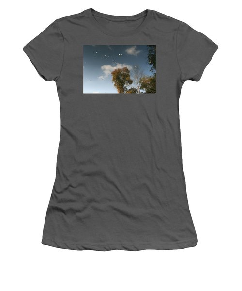 Women's T-Shirt (Junior Cut) featuring the photograph Reflective Thoughts  by Neal Eslinger