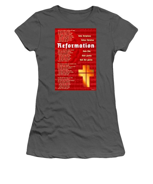 Reformation Women's T-Shirt (Athletic Fit)