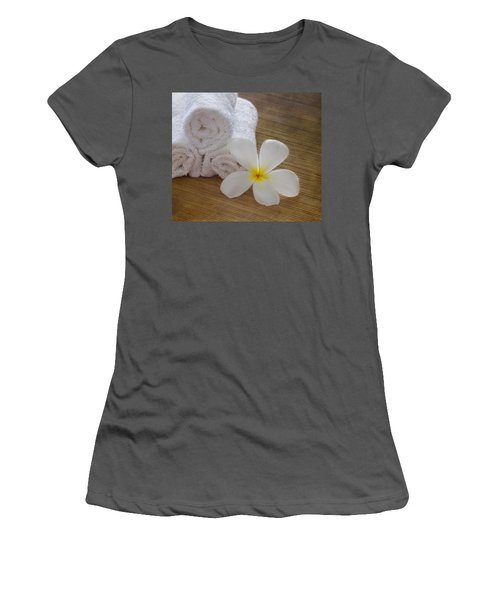 Relax At The Spa Women's T-Shirt (Athletic Fit)
