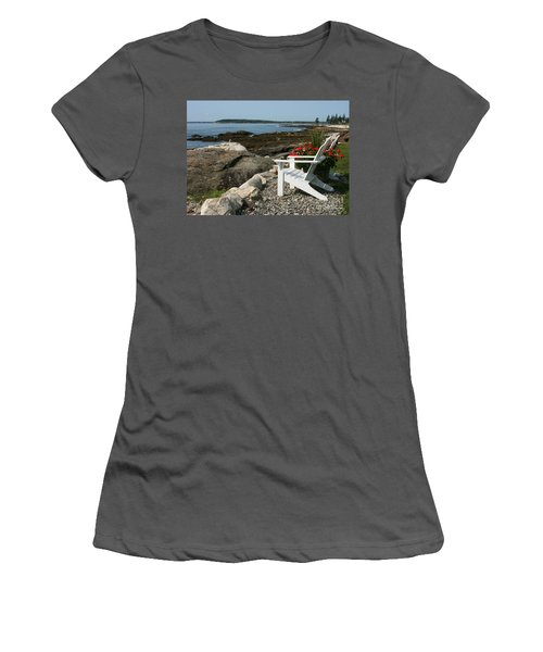 Women's T-Shirt (Junior Cut) featuring the photograph Relaxing Afternoon by Mariarosa Rockefeller