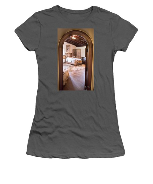 Retreat To The Past Women's T-Shirt (Athletic Fit)