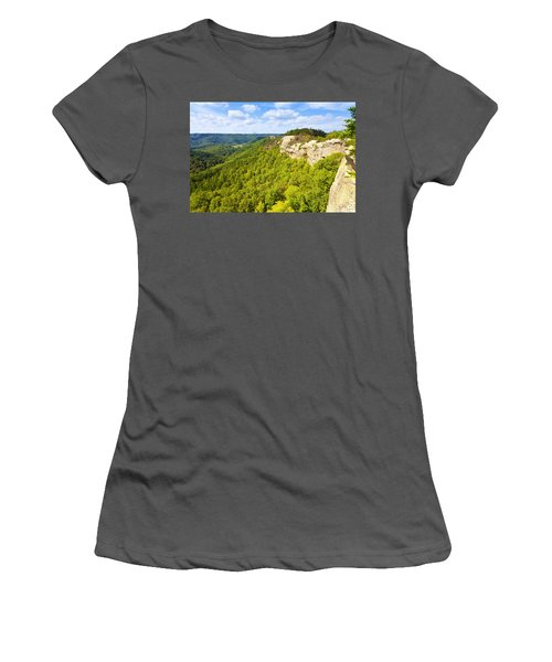 Ridge Top View Women's T-Shirt (Athletic Fit)
