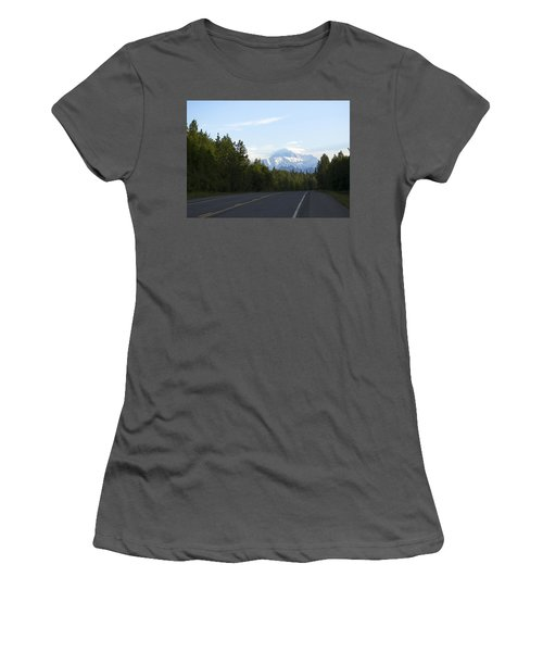 Road To Denali  Women's T-Shirt (Athletic Fit)