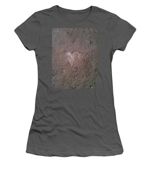 Rock Heart Women's T-Shirt (Athletic Fit)